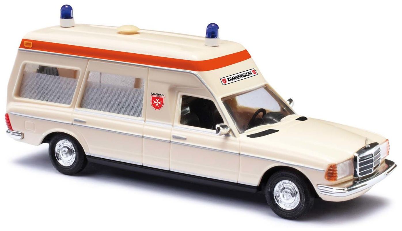 """Busch Mercedes-Benz VF 123 Miesen """"Malteser Hamburg"""""""