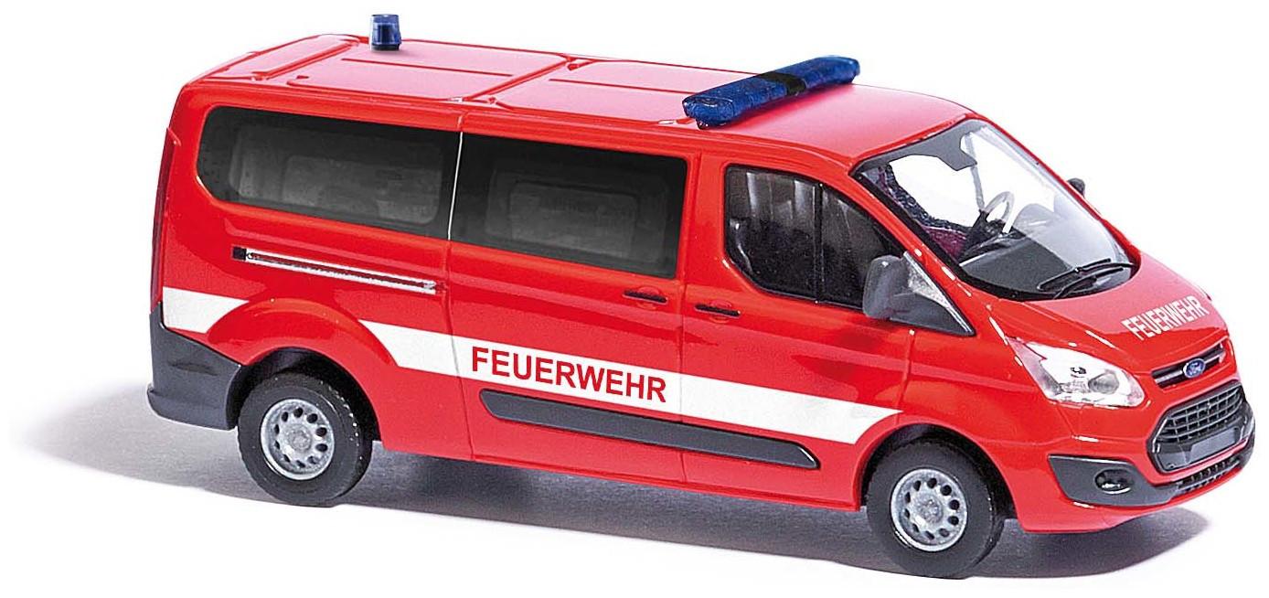 "Busch Ford Transit Custom Bus, ""Feuerwehr"""