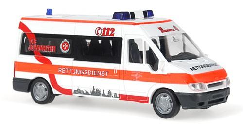 Rietze Ford Transit LR MD JUH Wiesbaden
