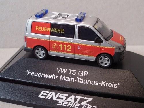 Rietze Einsatz Serie VW T5 GP Feuerwehr Main Taunus