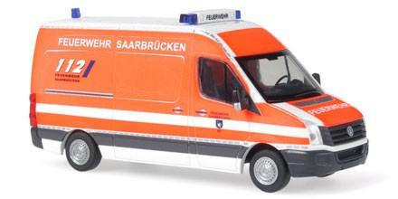 Rietze VW Crafter Feuerwehr Saarbrücken (Restmenge)