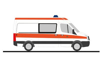 """Rietze VW Crafter`11 """" Polizei Ärztl. Dienst Berlin """", NH 11-12/20,(Vorbestellung / Modell noch nicht lieferbar !!!)"""