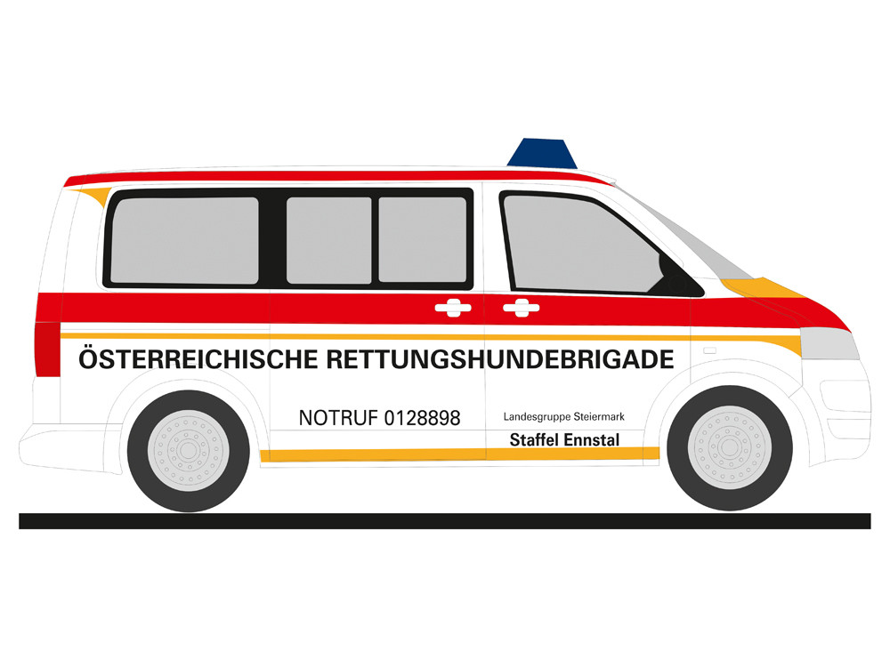 Rietze VW T5 `10 ÖRK Rettungshunde, NH 03-04/19