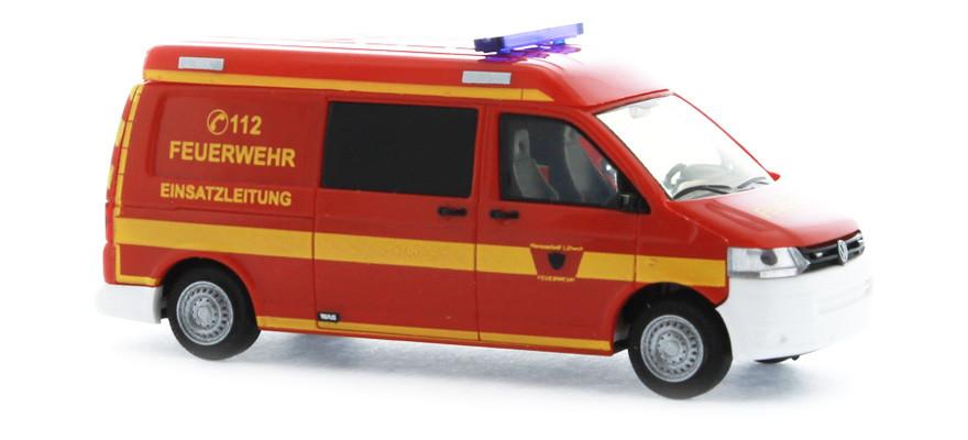 Rietze VW T5 ´10 Feuerwehr Lübeck
