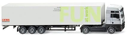 Wiking Steyr ST-A XXL Koffer-Sattelzug -Einzelstück-
