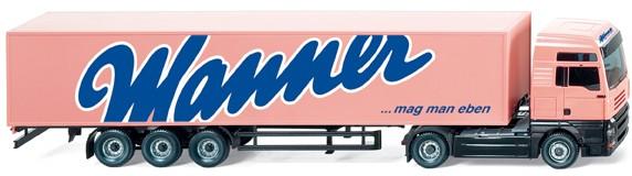 Wiking Steyr ST-A XXL Koffer-Sattelzug Wanner -Einzelstück-
