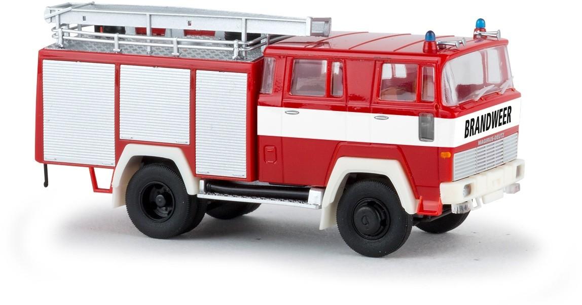 Brekina  Magirus D TLF 16 Brandweer