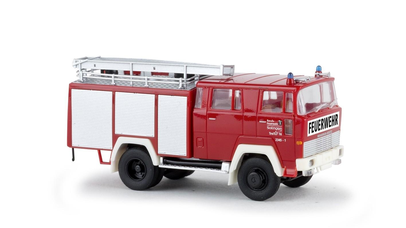 Brekina  Magirus D TLF 16 Feuerwehr Solingen (BF) -Einzelstück-