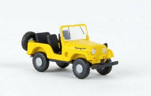 Brekina Jeep Universal gelb