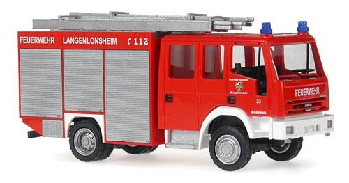 Rietze IVECO EuroFire TLF 16/25 Feuerwehr Langenlonsheim
