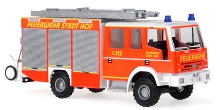 Rietze Iveco Magirus EuroFire HLF 20/20 Feuerwehr Hof (Restmenge)