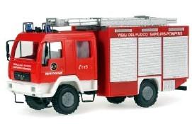 Rietze MAN LE 2000 LF Vigili del Fuoco Sapeurs-Pompiers Issogne