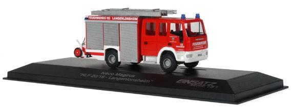 Rietze Einsatz Serie IVECO AluFire 3 HLF 20/16 FW Langenlonsheim