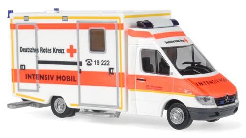 Rietze MB Sprinter Koffer RTW DRK Ravensburg