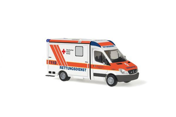Rietze MB Sprinter 06 RTW DRK Karlsruhe -Einzelstück-