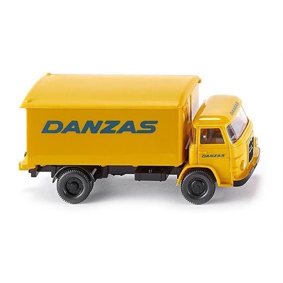 Wiking  MAN 415 Koffer-Lkw - DANZAS -Einzelstück-