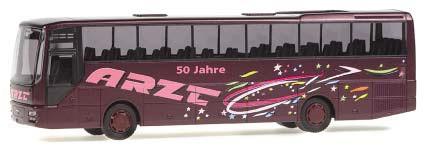 Rietze MAN Lion´s Star A03 50 Jahre Arzt-Reisen, Seeligenporten -Einzelstück-
