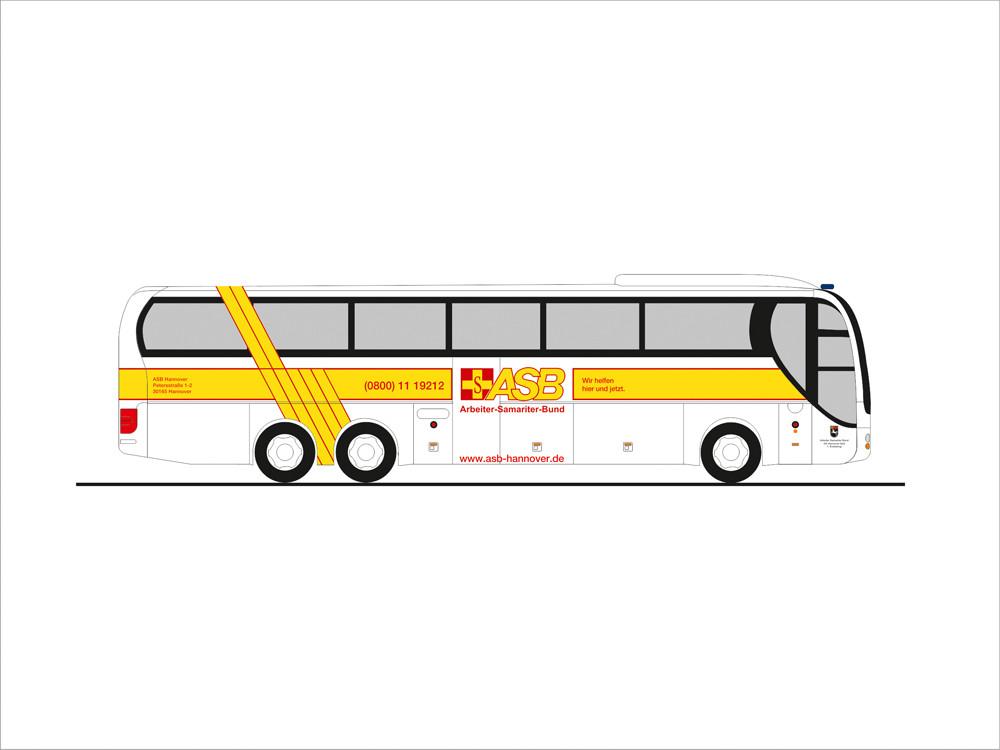 Rietze MAN Lion`s Coach L`08 ASB Hannover, NH 09-10/19, (Vorbestellung / Modell noch nicht lieferbar !!!)