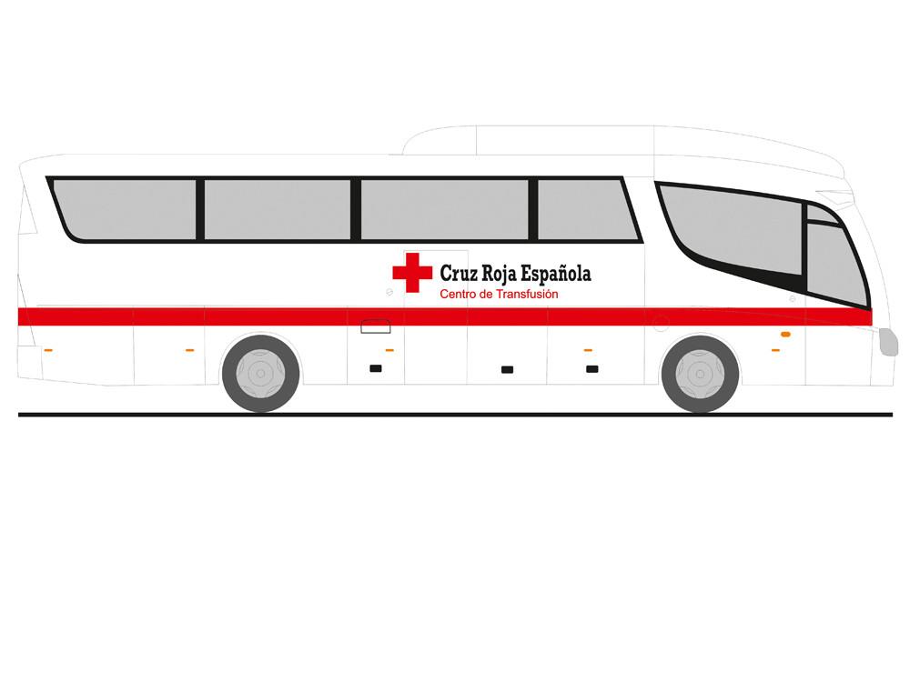 Rietze Scania PB Cruz Roja Espanola, NH 07-08/19,(Vorbestellung / Modell noch nicht lieferbar !!!)
