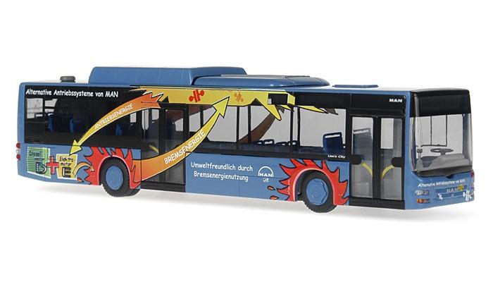 """Rietze MAN Lion's City Hybrid MAN Vorführlackierung """"Hybridbus"""""""