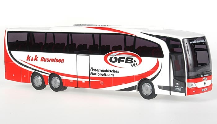 Rietze MB Travego M K&K Busreisen GmbH, Hornstein/ÖFB  (Österreich) -Einzelstück