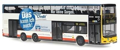 """Rietze MAN Lion's City DD """"BVG, Berlin - Berliner Volksbank"""""""