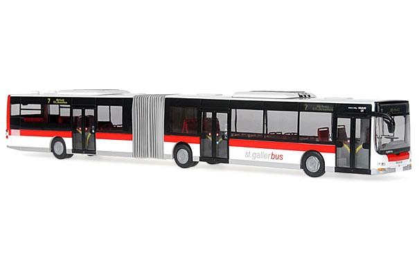 Rietze MAN Lion´s City G Verkehrsbetriebe der Stadt St.Gallen, VBSG (Schweiz) -Einzelstück-