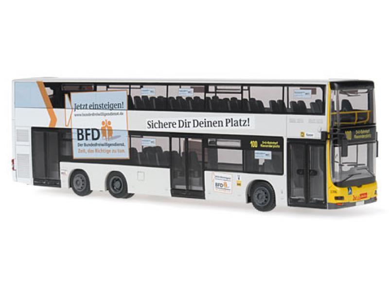 Rietze MAN Lion's City DD - BVG BFD Bundesfreiwilligendienst  -Restmenge-