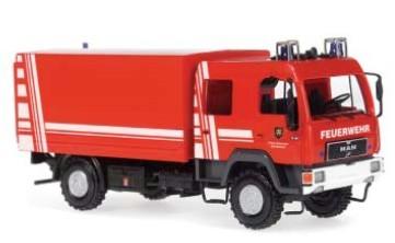 Rietze MAN L 2000 DEKON-P Feuerwehr Schriesheim