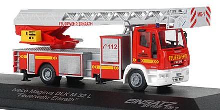Rietze Einsatz Serie IVECO DLK M 32 L Feuerwehr Erkrath