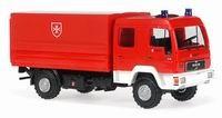 Rietze MAN L 2000 DEKON-P Malteser Krefeld -Einzelstück-