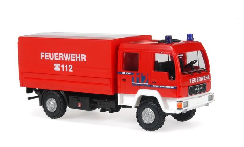 Rietze MAN L 2000 DEKON-P Feuerwehr Ravensburg