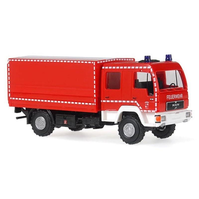 Rietze MAN L 2000 DEKON-P Feuerwehr Zwickau -Einzelstück-