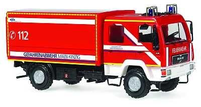 Rietze MAN DEKON-P Feuerwehr Main-Kinzig, Gefahrenabwehr (Einzelstück)