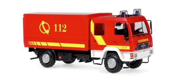 Rietze Einsatz-Serie MAN DEKON-P Feuerwehr Lindau  -Einzelstück-