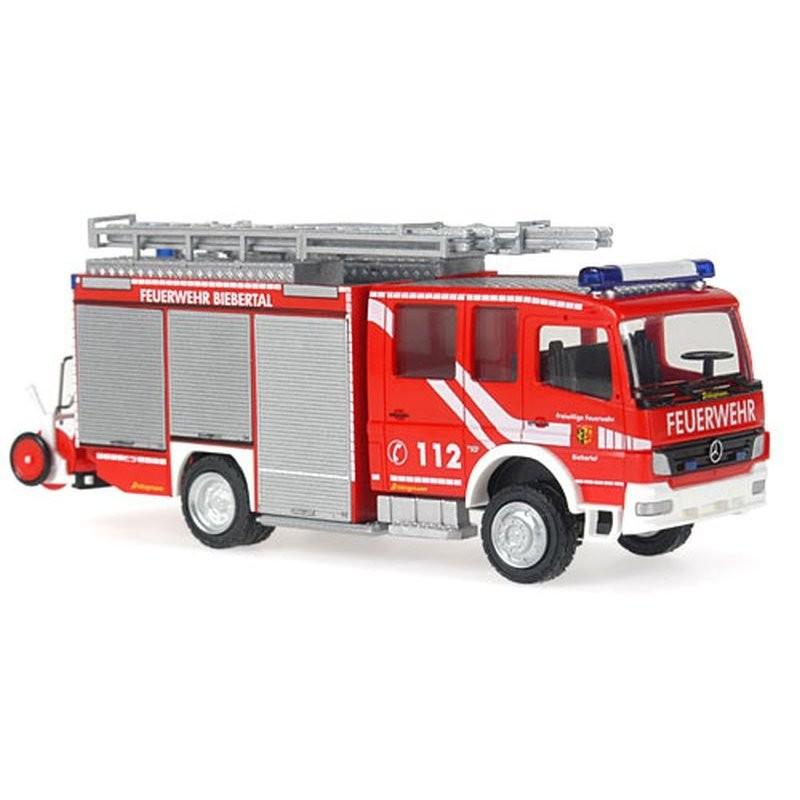 Rietze MB Atego 04 HLF 20/16 Feuerwehr Biebertal
