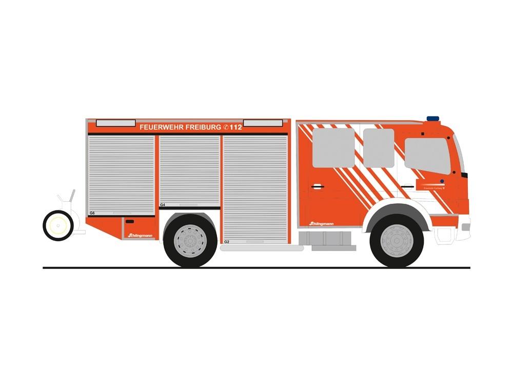 Rietze MB Atego 10 HLF 20 Feuerwehr Freiburg (BF),NH 11-12/18