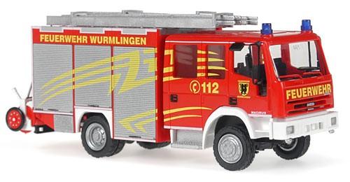 Rietze IVECO EuroFire HLF 20/16 FW Wurmlingen