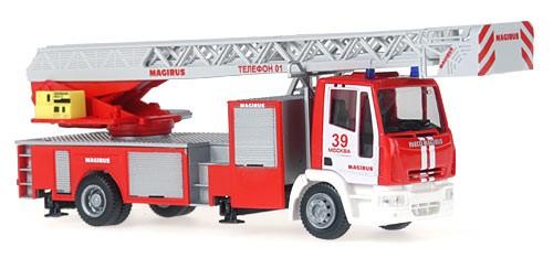 Rietze IVECO MAGIRUS DLK M 32 Feuerwehr Moskau