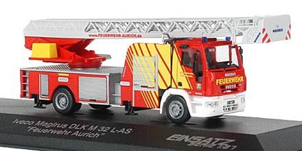 Rietze Einsatz Serie IVECO DLK M 32 L-AS Feuerwehr Aurich