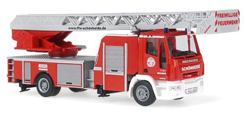 Rietze IVECO DLK M 32 L-AS Feuerwehr Schönheide