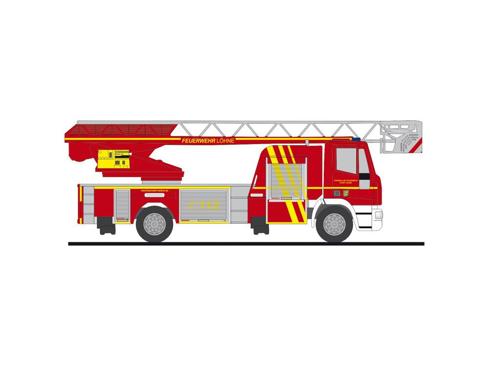 """Rietze Einsatz-Serie IVECO DLK L32 """" Feuerwehr Löhne """", NH 05-06/20"""