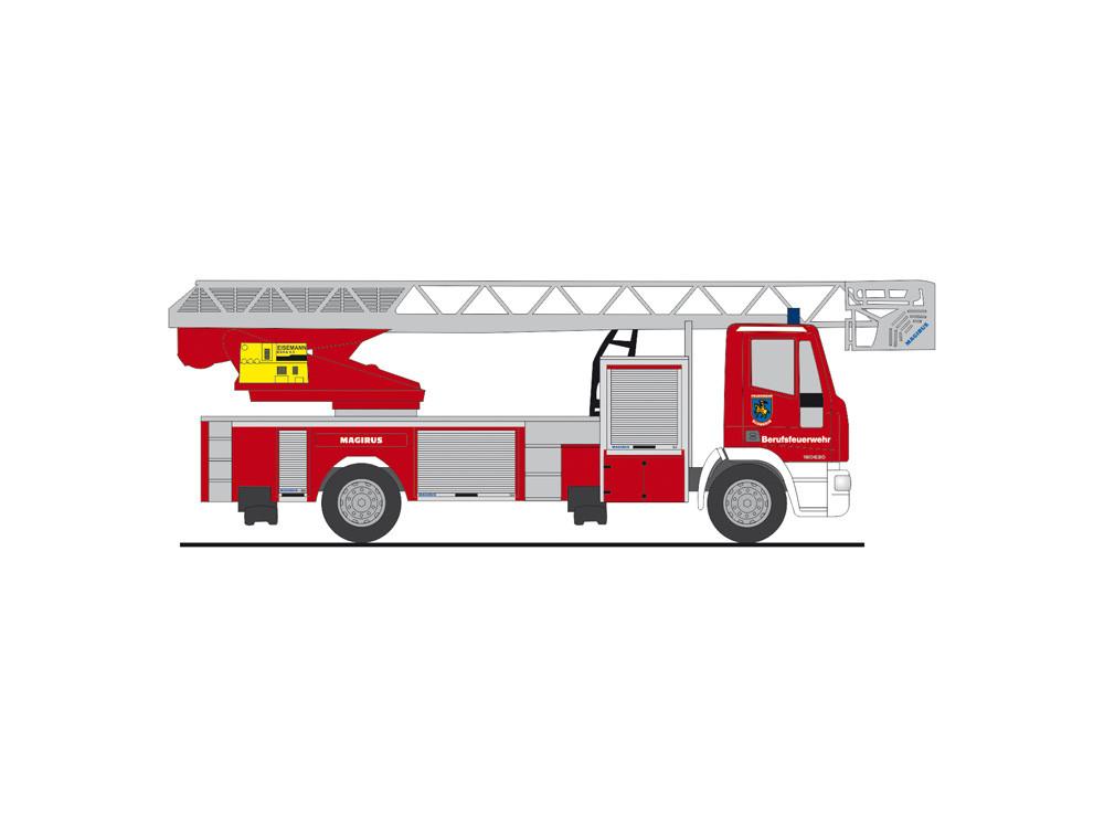 """Rietze IVECO DLK L32 """"  Feuerwehr Schwerin  """", NH 09-10/20"""