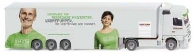 Wiking MB Actros SZ Stiebel Eltron -Einzelstück-