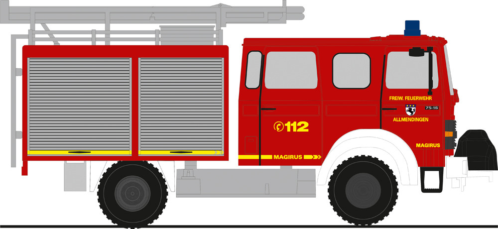Rietze IVECO MK LF 8 Feuerwehr Allmendingen, NH 05-06/19