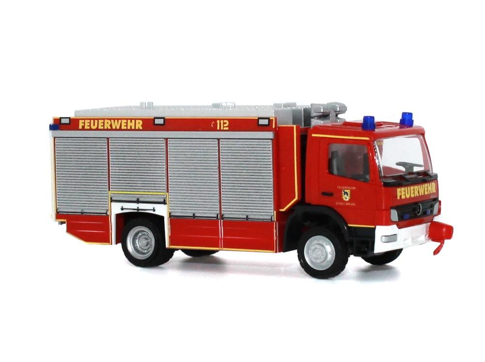 Rietze MB Atego RW Feuerwehr Brühl, -Einzelstück-