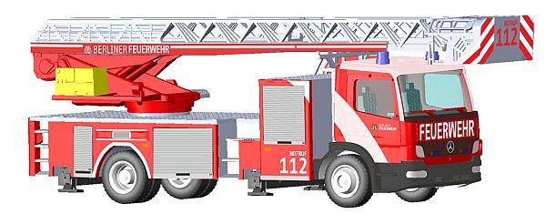 Rietze MB Atego DLK L32 Berliner Feuerwehr