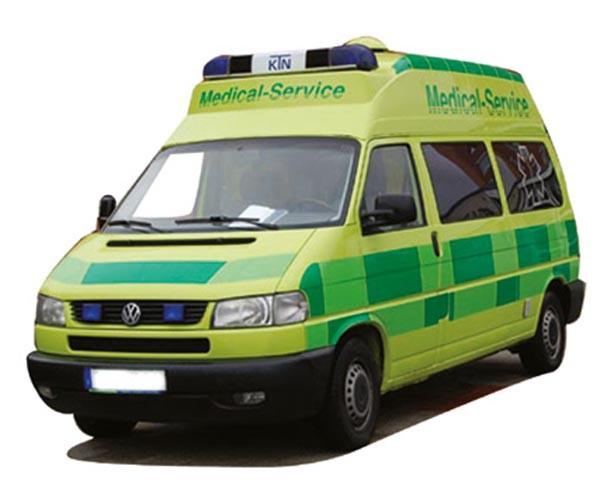 "AWM VW T4 LR HD ""Medical Service"""