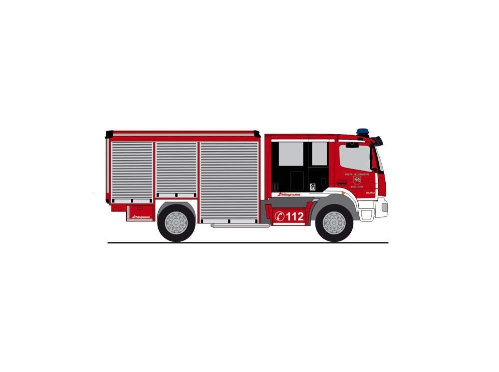 """Rietze MB Atego 19 Varus """" HLF Feuerwehr Roetgen  """", NH 09-10/20,"""