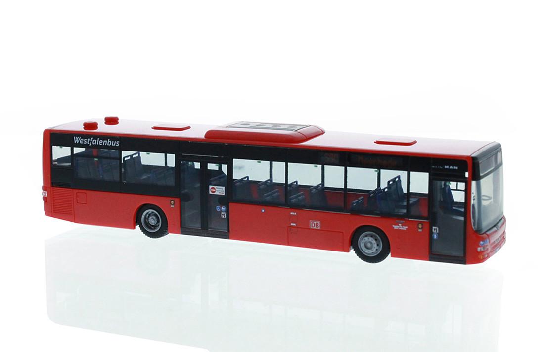 """Rietze MAN Lion´s City ´15 """"DB - Westfalen Bus""""  BAHN edition Nr. 78"""